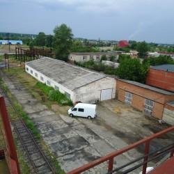 Белореченская база с подъездным жд путем